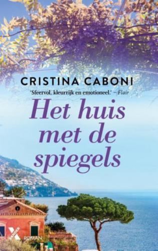 Boek:  Het huis met de spiegels Cristina Caboni